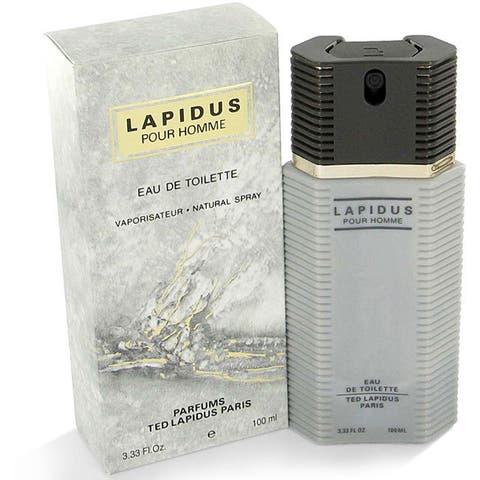 Ted Lapidus Lapidus Men's 3.3-ounce Eau de Toilette Spray