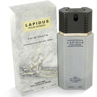 Ted Lapidus Lapidus Men's 3.3-ounce Eau de Toilette Spray