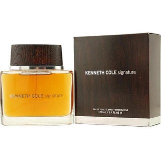 Kenneth Cole Signature Men's 3.4-ounce Eau de Toilette Spray