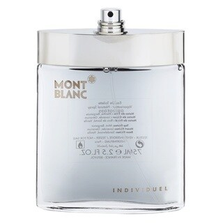 Mont Blanc Individuel Men's 2.5-ounce Eau de Toilette Spray (Tester)