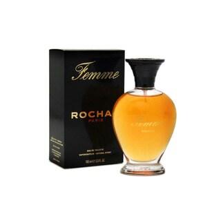 Rochas Femme Rochas Women's 3.4-ounce Eau de Toilette Spray