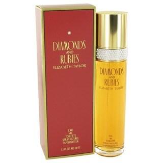 Elizabeth Taylor Diamonds & Rubies Women's 3.3-ounce Eau de Toilette Spray