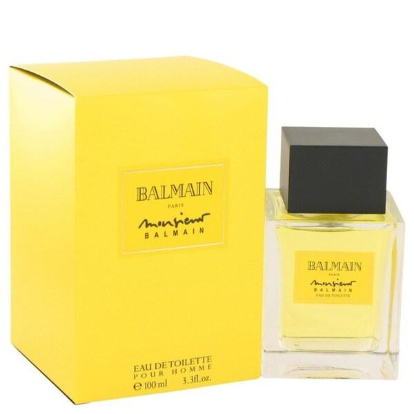 Pierre Balmain Monsieur Balmain Men's 3.3-ounce Eau de Toilette Spray
