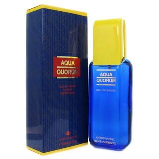 Antonio Puig Aqua Quorum Men's 3.4-ounce Eau de Toilette Spray