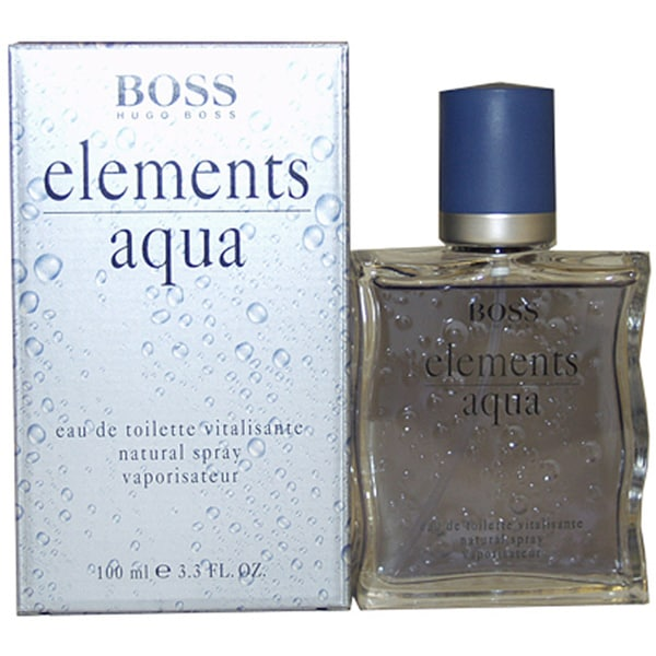 hugo boss aqua elements men 39 s 3 3 ounce eau de toilette spray free shipping today overstock. Black Bedroom Furniture Sets. Home Design Ideas