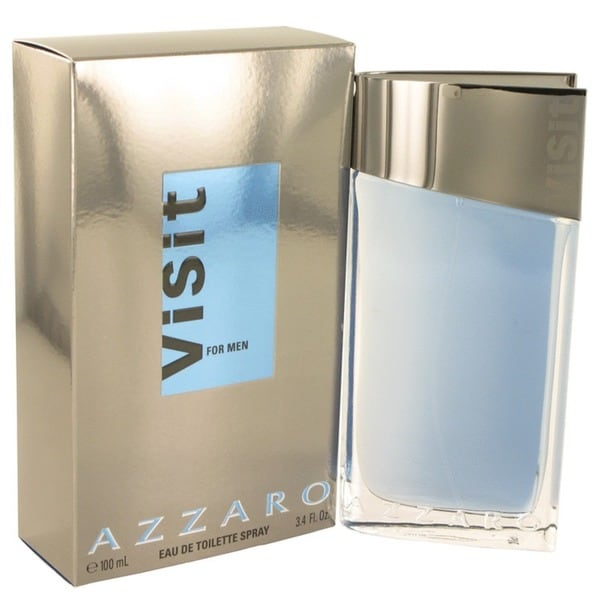 Azzaro Visit Men's 3.4-ounce Eau de Toilette Spray