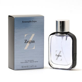 Ermenegildo Zegna Z Zenga Men's 1.6-ounce Eau de Toilette Spray
