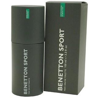 Benetton Sport Men's 3.3-ounce Eau de Toilette Spray