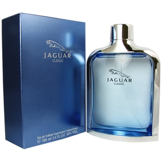 Jaguar Blue Classic Men's 3.4-ounce Eau de Toilette Spray