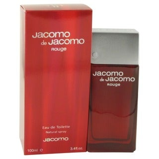 Jacomo de Jacomo Rouge Men's 3.4-ounce Eau de Toilette Spray