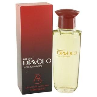 Antonio Banderas Diavolo Men's 3.4-ounce Eau de Toilette Spray