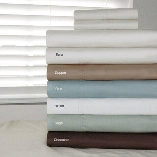 Pointehaven Egyptian Cotton 500 Thread Count Duvet Cover Set
