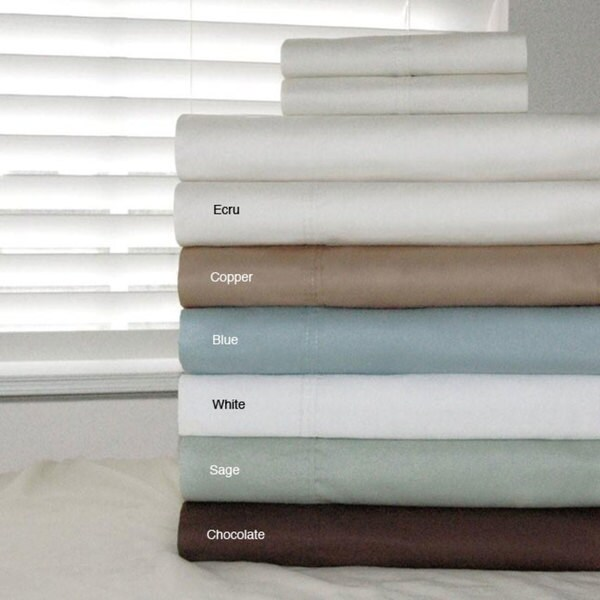 Pointehaven Egyptian Cotton 500 Thread Count Duvet Cover Set