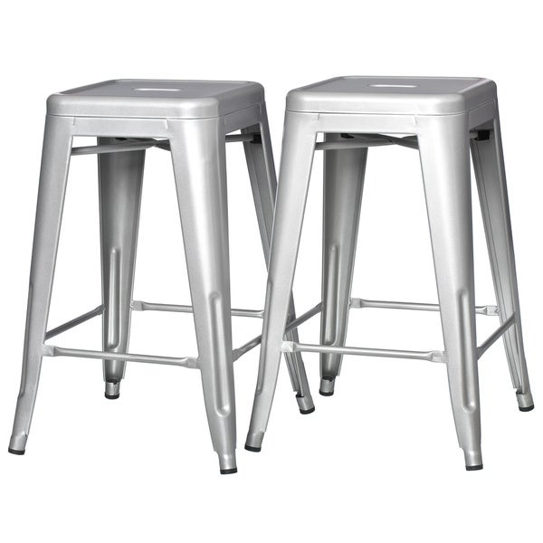 metal counter stools overstockcom and wood canada set height