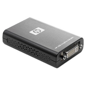 HP USB to DVI Graphics Multiview Adapter- Smart Buy