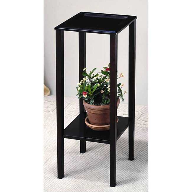 Classic Square Wood Plant Stand
