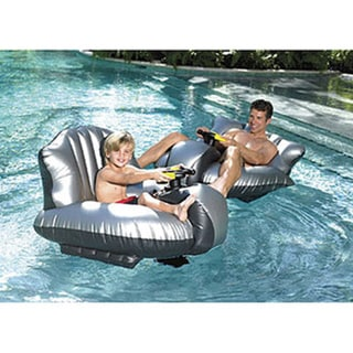 Excalibur Inflatable Motorized Bumper Boat with Water Cannon