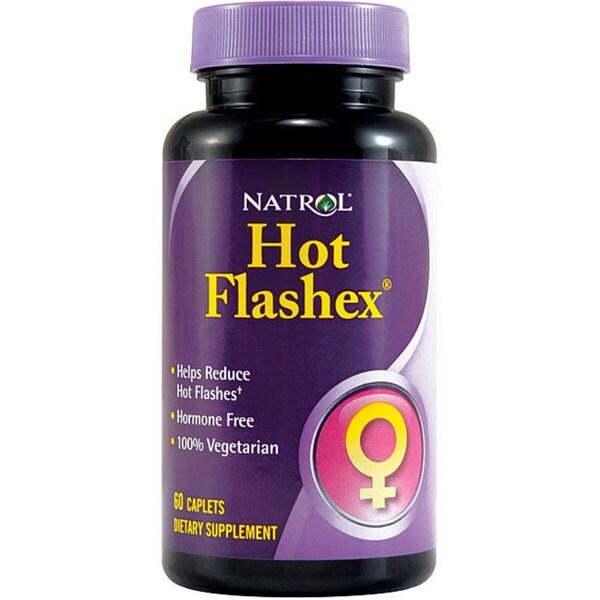 Natrol Women's Hot Flashex Pills (Pack of 3 60-count Bottles)