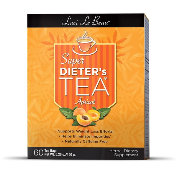 Natrol Laci Apricot Super Dieter's Tea (Pack of 3)