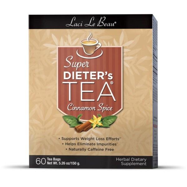 Natrol Laci Super Dieter's 60-count Cinnamon Spice Tea (Pack of 3)