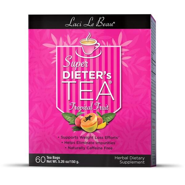 Natrol Laci LeBeau Tropical Fruit Super Dieter's Tea (3-pack)