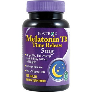 Natrol Melatonin 5mg Time Release (100 Tablets)