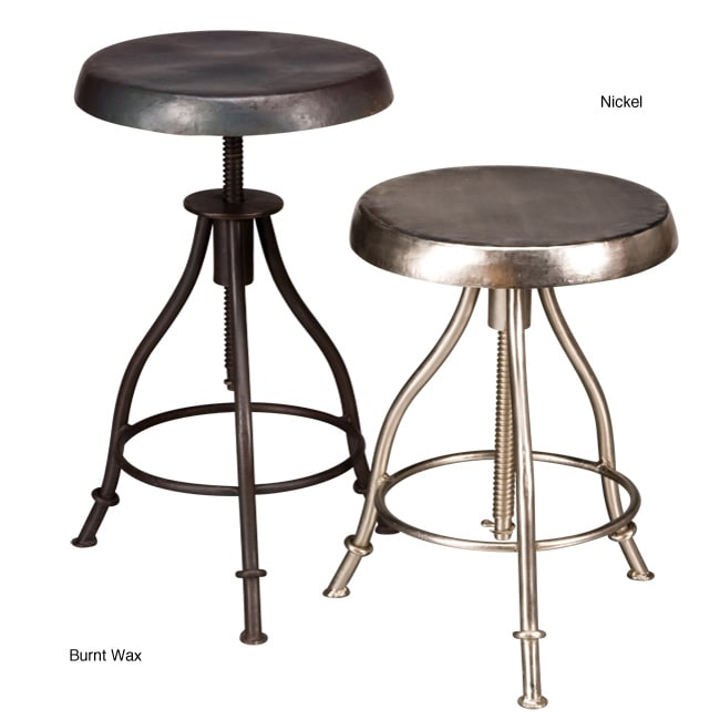 Iron Swivel Stool (India)