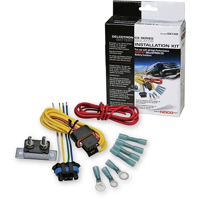 Delcotron Battery Isolator Installation Kit