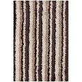 Artist's Loom Hand-woven Shag Rug (5'6 x 7'9)