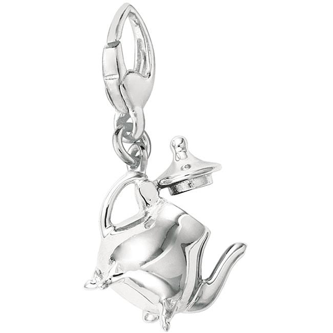 Sterling Silver Teapot Charm