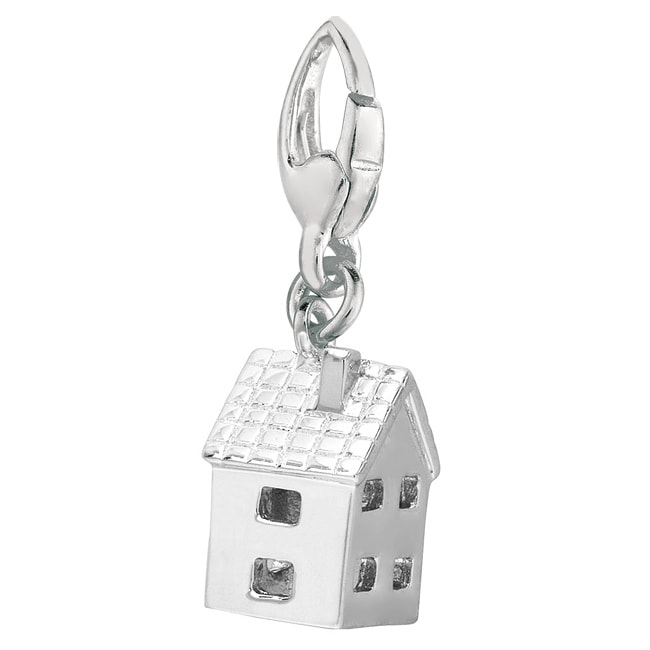 Sterling Silver 'House' Charm