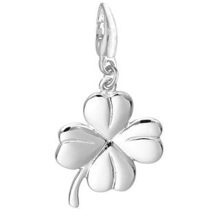 Sterling Silver 'Four Leaf Clover' Charm