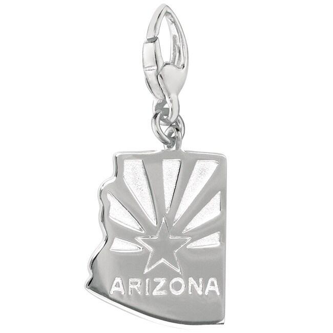 Sterling Silver Arizona Charm