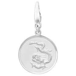 Sterling Silver 'Dragon' Charm