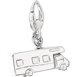 Sterling Silver Motor Home Charm