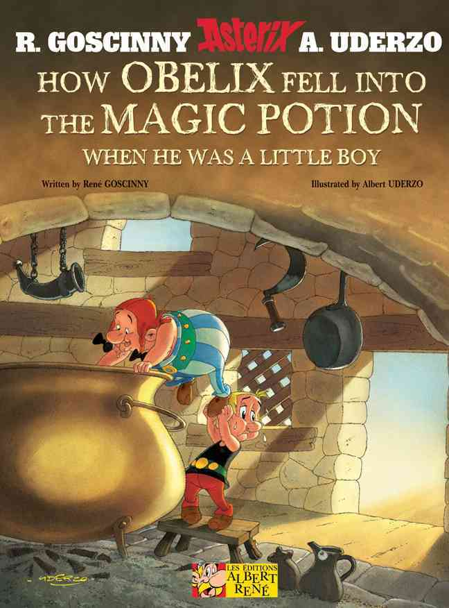 How Obelix Fell into the Magic Potion: When He Was a Little Boy (Hardcover) - Thumbnail 0