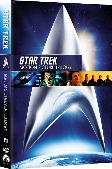 Star Trek: Motion Picture Trilogy (DVD)