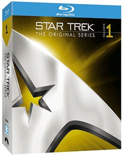 Star Trek: The Original Series - Season One (Blu-ray Disc)