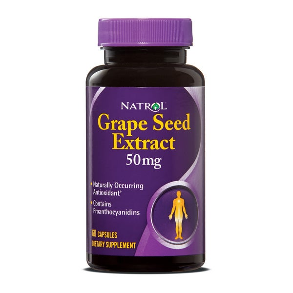 Natrol 50mg Grape Seed Extract (120 count)