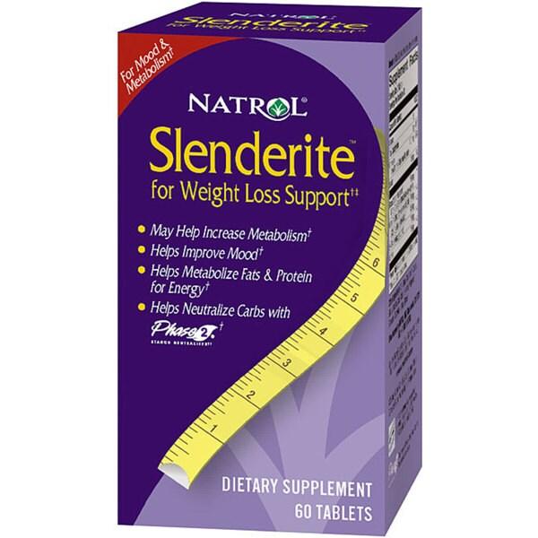 Natrol Slenderite 375mg Tablets (120 count)
