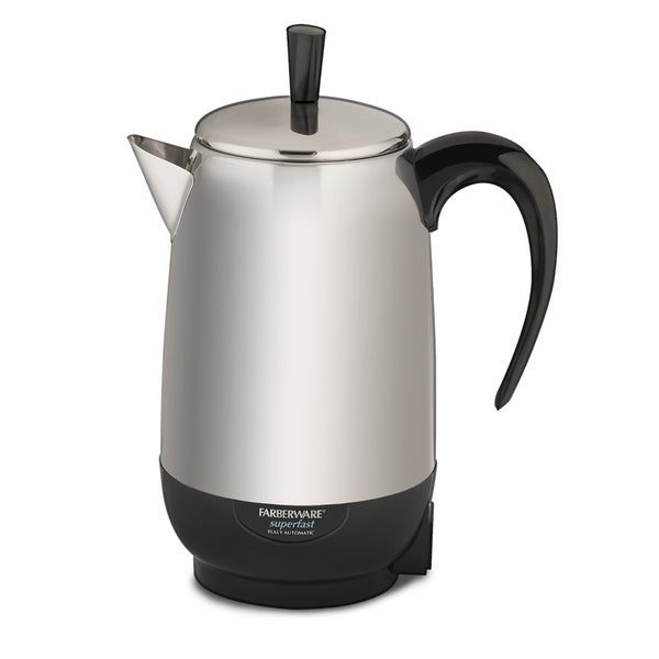Stainless Steel 8-cup Percolator