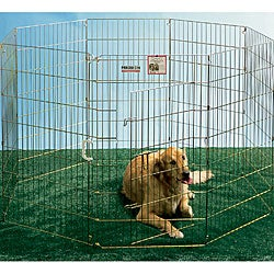 Ultimate 42-inch Pet Exercise Pen