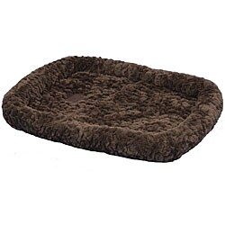 SnooZZy Chocolate Cozy Crate Pet Bed 4000 (37 in. x 25 in.)
