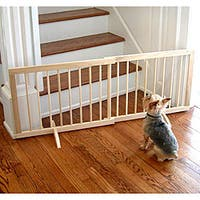 Carlson White Mini 18 Inch Tall Pet Gate With Pet Door