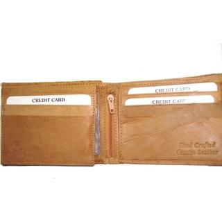 Kozmic Men's Cow Leather Bifold Wallet