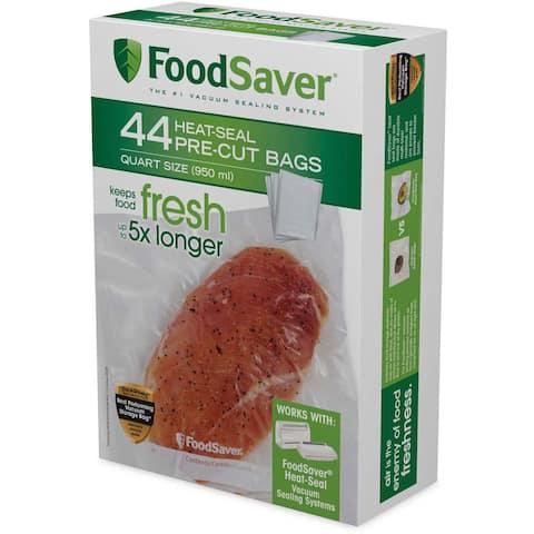 FoodSaver 44-count Heat-seal Quart-size Bags