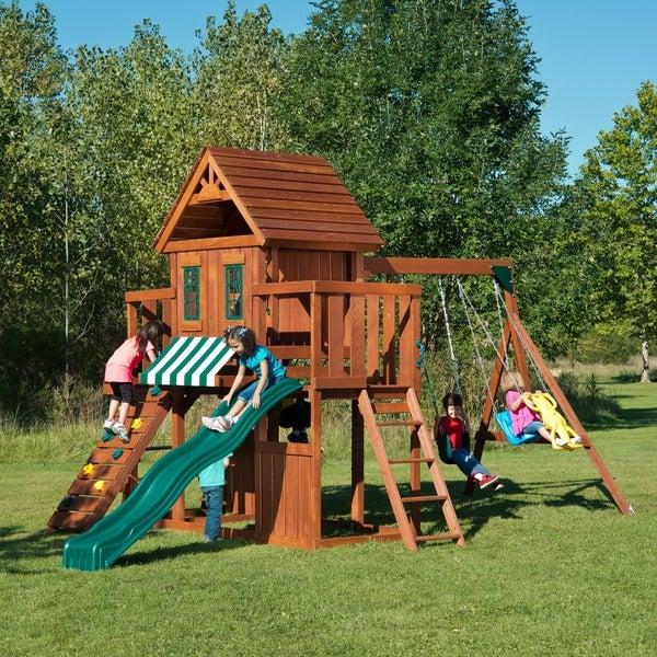 Swing-N-Slide Winchester Wood Swing Set Kit