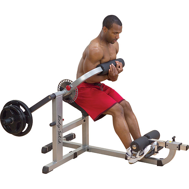 Plate Loaded Ab and Back Machine