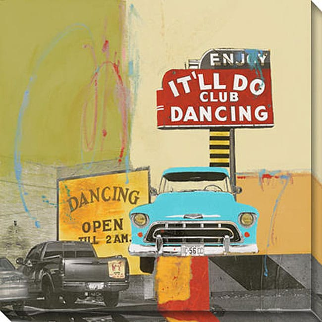 Gallery Direct Maureen Brouillette 'It'll Do Dancing I' Canvas Art
