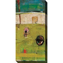 Gallery Direct Benjamin Deal 'At the Station II' Gallery-wrapped Canvas Art
